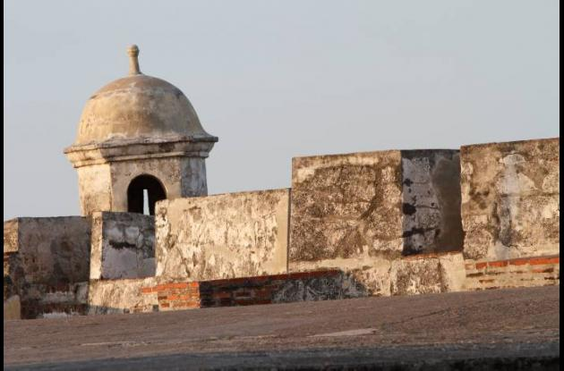 El Castillo San Felipe de Barajas, la fortificación más imponente de Cartagena.