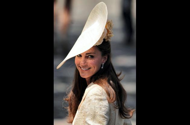 Catalina, Duquesa de Cambridge y esposa del príncipe Guillermo.