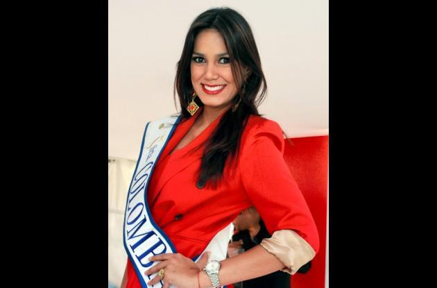 Catalina Robayo, Señorita Colombia en Miss Universo.