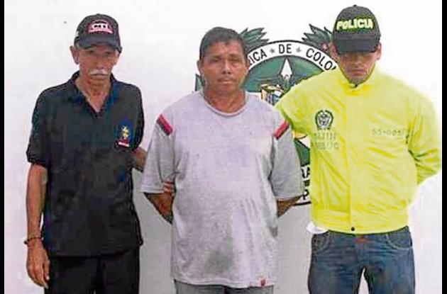 """Silvio René Díaz Arrieta, alias """"El Mocha Palo"""", capturado."""