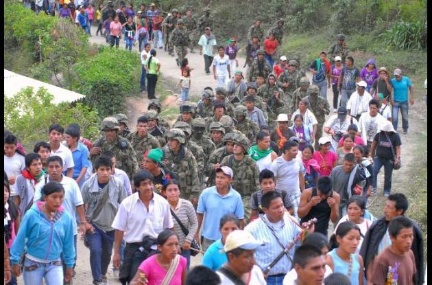 Conflicto en el Cauca