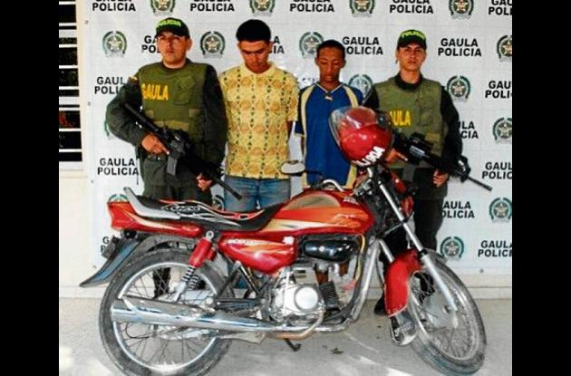 Ricardo Cuadrado Leal y Wílmer Arias Aguirre, aprehendidos.