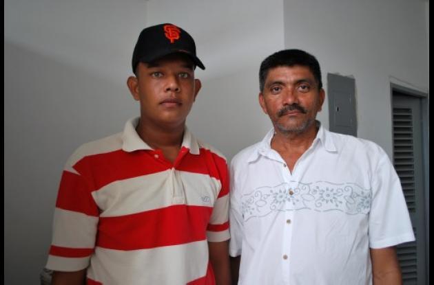 Carlos Mario Díaz, junto a Daniel Mavares