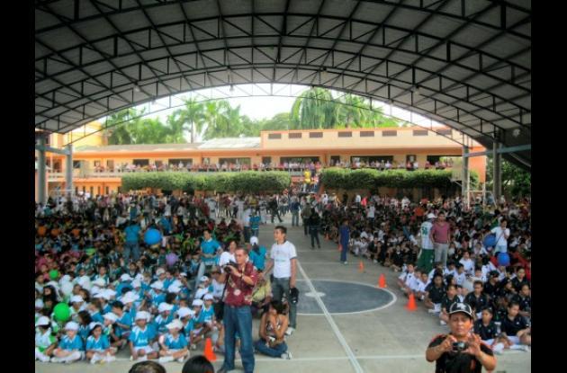 Juegos  Internos del colegio La Salle de Montería