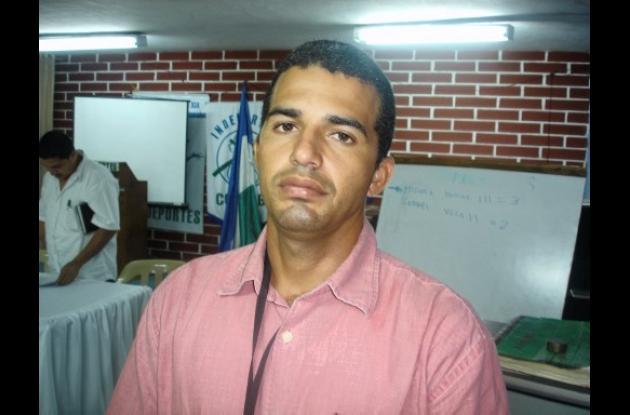 Mariano Salleg, presidente de la Liga de Natación de Córdoba.