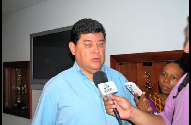 Rubén Dario Delgado, coordinador Nacional de los Juegos Atléticos Nacionales