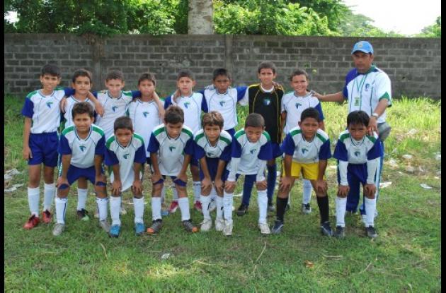equipo B del colegio La Salle