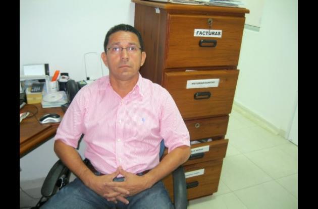 Pablo Orozco, presidente de la Liga de Fútbol de Córdoba.