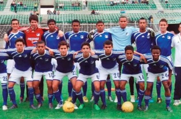 equipo Los Millonarios categoría Sub-20