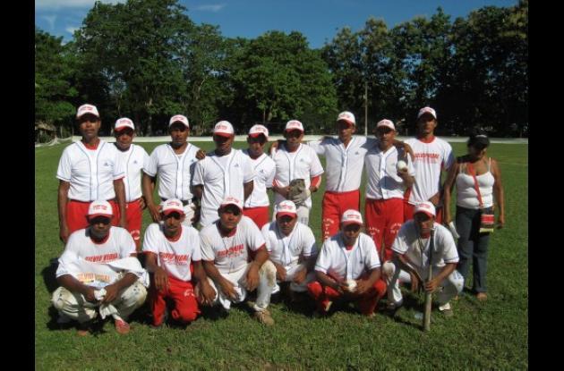 El equipo Piedras de Ciénaga de Oro se coronó campeón de sóftbol masculino