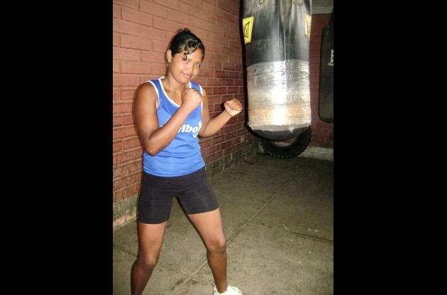 Kelly Johana Solano, boxeadora cordobesa