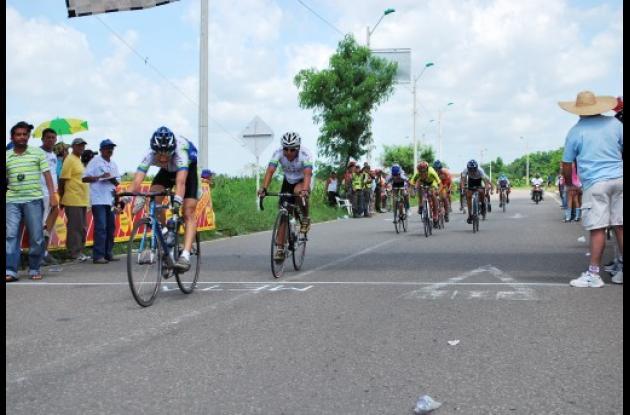 ciclismo entre los municipios de Montería y Sincelejo.