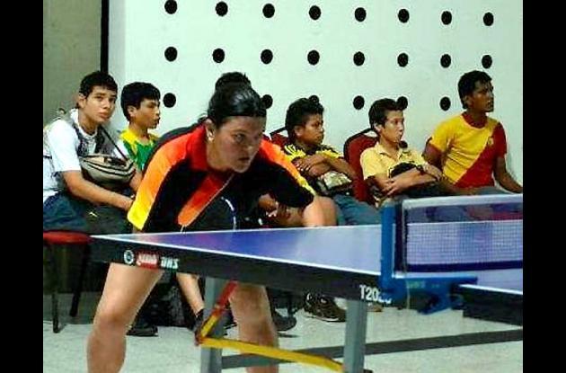 Loriam Argumedo Dau, cordobesa se coronó campeona de tenis en Barranquilla.