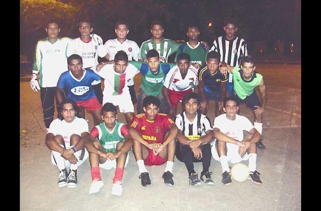 Jugadores que integran la selección de fútbol de salón de Córdoba