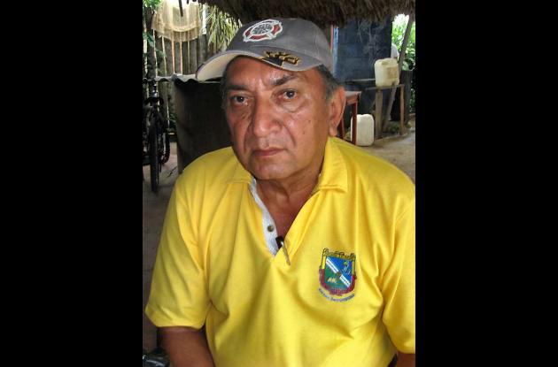 Gabriel Barrios, tejista de Sahagún.