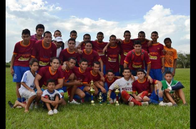 Equipo del barrio San Rafael, campeón del Torneo de Fútbol de Primera Categoría