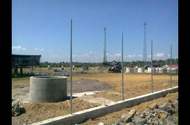 La obra del estadio de béisbol 3 de Mayo de Lorica debe estar lista para los Jue