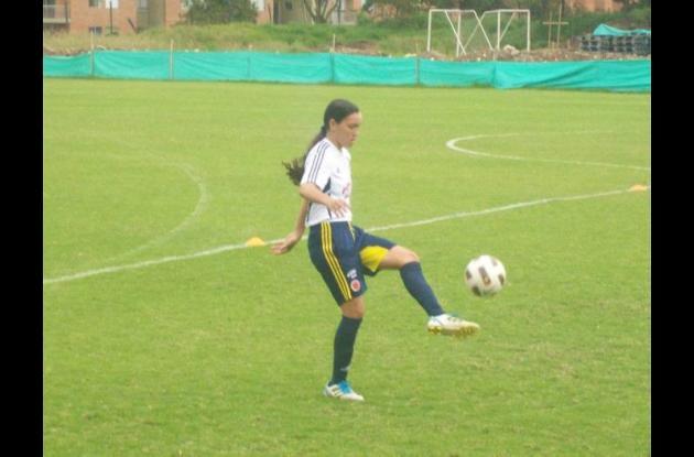 Luz Katerine Tapia Ramírez, jugadora de fútbol de Córdoba.