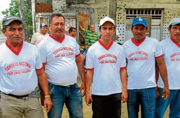 Equipo nacional que participa en el evento de tejo en Sahagún.
