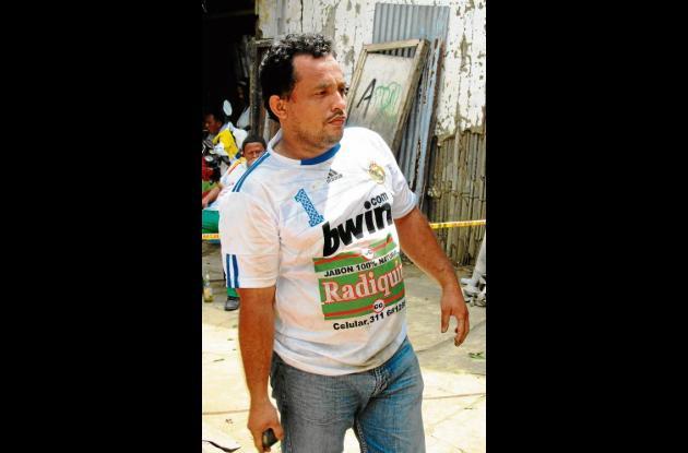 Tony Cordero, jugador de tejo.