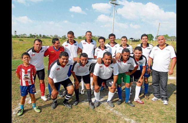 Equipo TV Omegam que participa en el Torneo