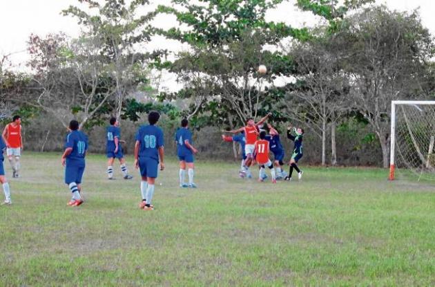 El equipo de la Unión Sucre se impuso en el partido de fogueo frente a Sahagún.