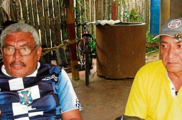 Gabriel Barrios y Benjamín Ramos, coordinador y anotador, del Toneo