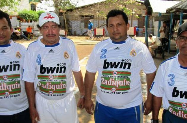 Equipo Radiquín de Sahagún, tercero en la Copa Carnaval.