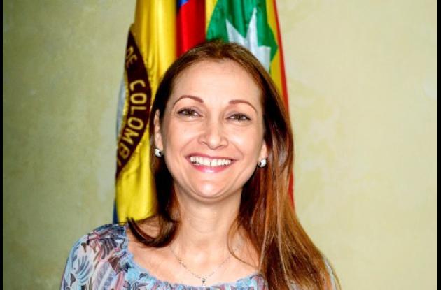 Posesión de Cecilia Bemúdez.