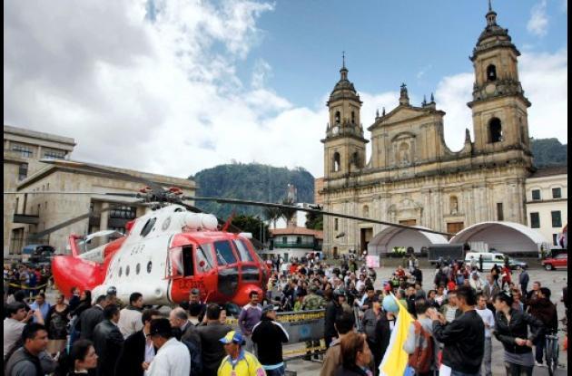 Celebración de los 201 años de Independencia de Colombia.