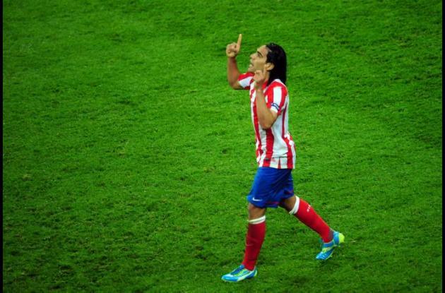 Falcao anotó los dos primeros goles.