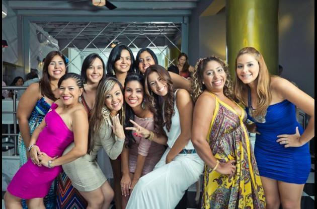 Angie Torres, Carolina Rodriguez, Paola Alcalá, Katerin Avendaño, Maria Ines Oso