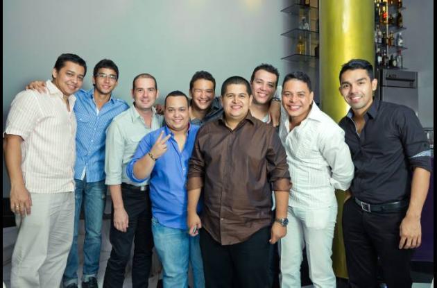 Juan Manuel Padilla, Oscar Chacón, Abel Guitierre, Gabriel Pallares, Diego Giral
