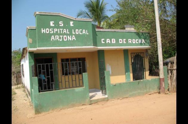 El centro de salud de Rocha, corregimiento de Arjona, necesita obras de mejorami