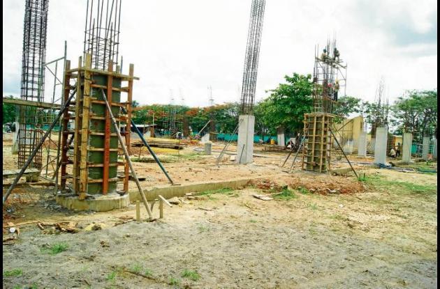 Obras de construcción deportivas en Cereté para los Juegos Nacionales 2012