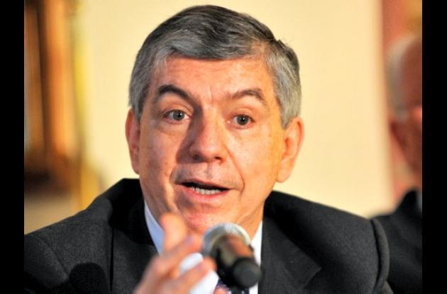César Gaviria Trujillo, ex presidente de Colombia.