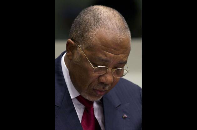 Charles Taylor, ex presidente de Liberia