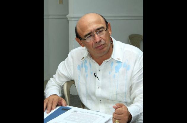 Enrique Chartuni, gerente de Transcaribe