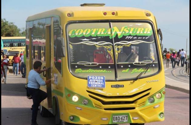 Chatarrización de buses y busetas en Cartagena