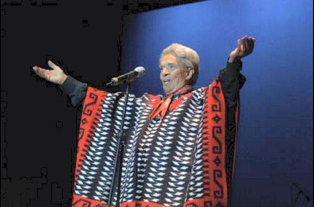 Chavela Vargas, legendaria artista de la música mexicana.