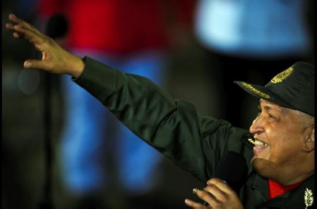 Hugo Chávez, presidente venezolano.