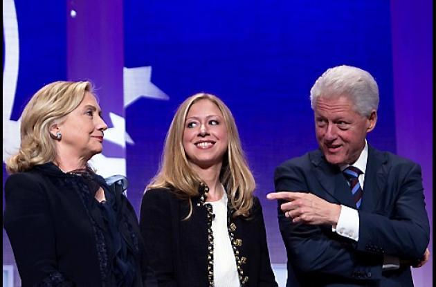 Chelsea es hija del ex presidente Bill Clinton y de Hillary Clinton.