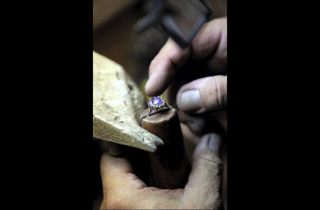 Réplica del anillo de compromiso que lleva Middleton.