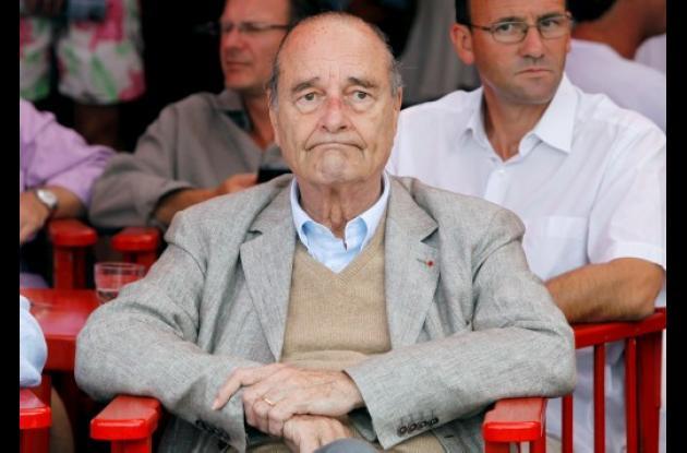 Ex presidente francés Jacques Chirac