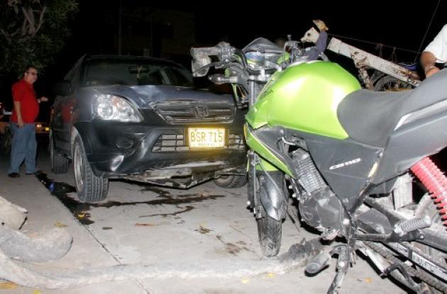 Muertes de motociclistas en Cartagena.