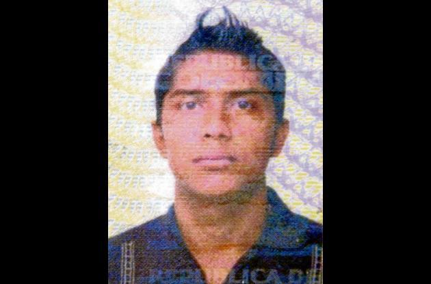 Samir de Jesús Burgos Salcedo, fallecido.