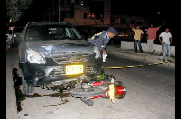 Cifras de accidentalidad en Cartagena.