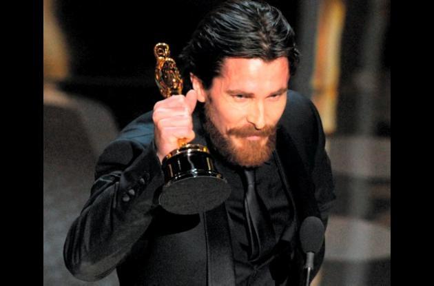 Christian Bale ganó el Oscar a Mejor Actor Secundario