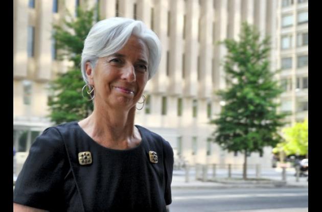 Christine Lagarde, ministra francesa de Economía y candidata a la jefatura del F