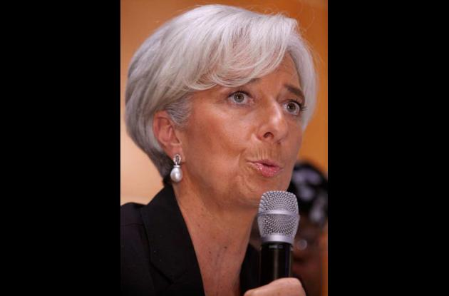 Christine Lagarde, directora general del FMI.
